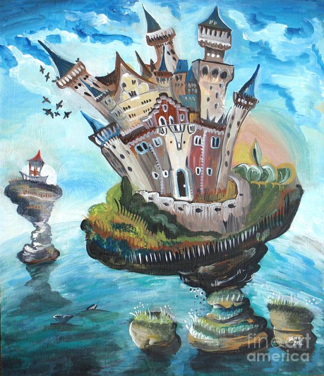 Castle In The Sky by Lucia Chocholackova